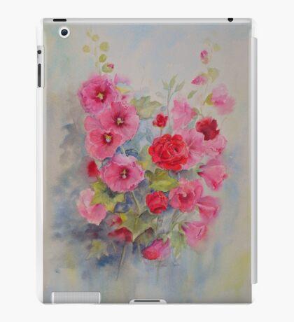 Hollyhocks iPad Case/Skin