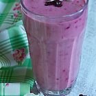Coconut Berry Smoothie by Kathy Reid