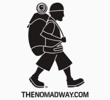 The Nomad Way - Classic T  (Black on...) by TheNomadWay