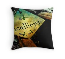 S C A L L I O N S  Throw Pillow