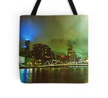 Strange Night Sky Tote Bag
