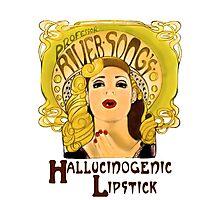 """Professor River Song's Hallucinogenic Lipstick"" Photographic Print"