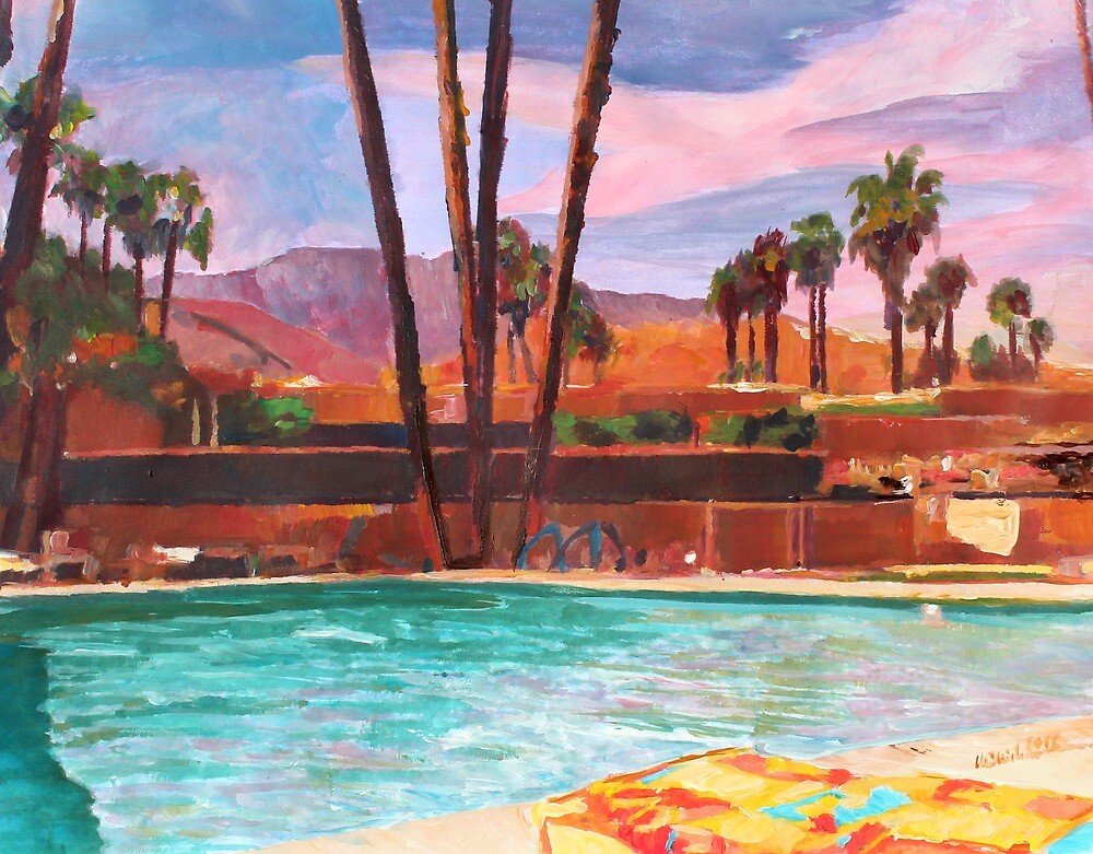 The Palm Springs Pool by artshop77