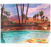The Palm Springs Pool Poster