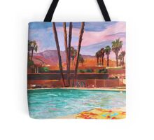 The Palm Springs Pool Tote Bag