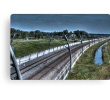 Railway Canvas Print