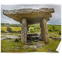 Burren-Poulnabrone tomb Poster