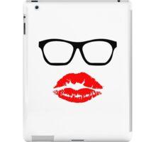 Nerd Glasses and Kiss iPad Case/Skin