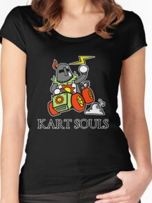 KART SOULS Women's Fitted Scoop T-Shirt