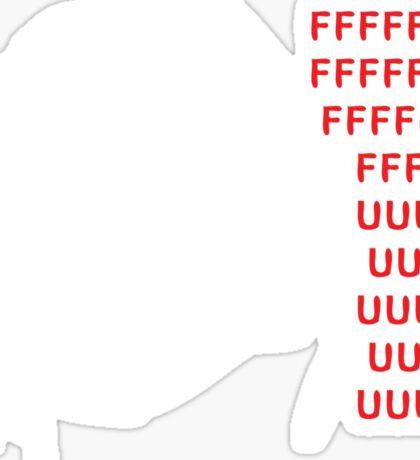 Rage Guy Sticker