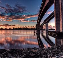 Sunset at Gateway by GeoffSporne