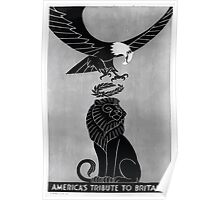 Americas tribute to Britain 002 Poster