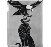 Americas tribute to Britain 002 iPad Case/Skin
