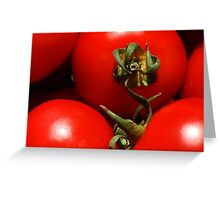 Red, Red Tomatoes Greeting Card