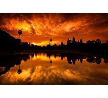 Angkor Wat Sunrise Photographic Print