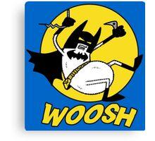 Batman Fuzz Ball Canvas Print