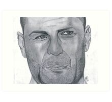 Bruce Willis Art Print