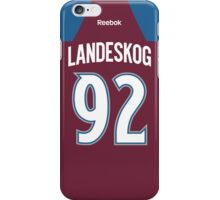 Colorado Avalanche Gabriel Landeskog Jersey Back Phone Case iPhone Case/Skin