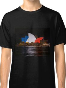 Sydney Opera House Paris Attacks Tribute Classic T-Shirt