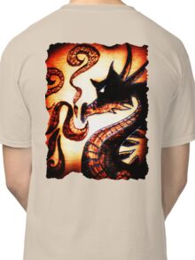 Flames and Thunder Dragon Classic T-Shirt