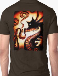 Flames and Thunder Dragon T-Shirt