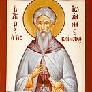St John Climacus by ikonographics