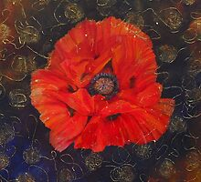 Poppy Psychedelic  by Beatrice Cloake Pasquier