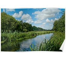 The Itchen Navigation Canal Poster
