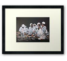 Nomad dinner Framed Print