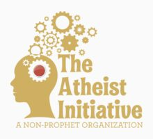 The Atheist Initiative Logo - Red Button Kids Tee