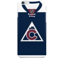 Colorado Avalanche Alternate Jersey iPhone Case/Skin