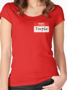 Torple Women's Fitted Scoop T-Shirt