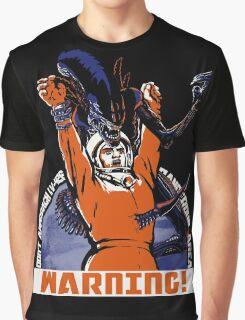 Warning. Graphic T-Shirt
