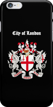 City of London iPhone Case by Catherine Hamilton-Veal  ©