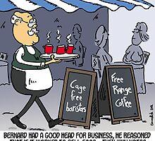 Free range coffee by Tim Mellish