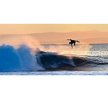 Ariel Surfer Photographic Print