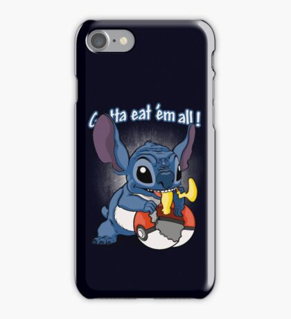 Gotta eat'em all. iPhone Case/Skin