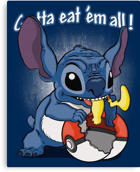 Gotta eat'em all. by J.C. Maziu
