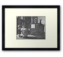 First TV  Framed Print