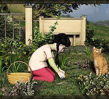 Gardening by Roberta Angiolani