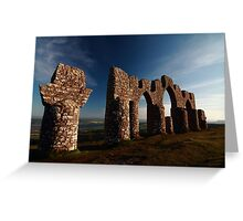 Fyrish Monument Greeting Card