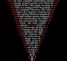 V for Vendetta - Who are you? by somethingdiffer