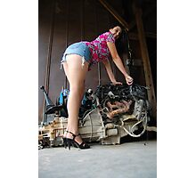 A 2300 and legs Photographic Print