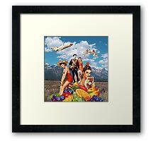 Grand Galla Framed Print