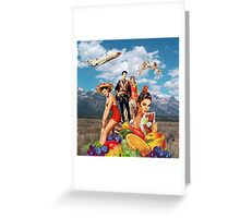 Grand Galla Greeting Card