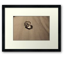 Perfect Roll Framed Print