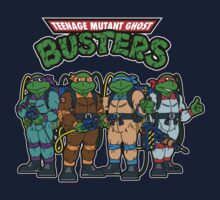Teenage Mutant Ghost Busters One Piece - Short Sleeve