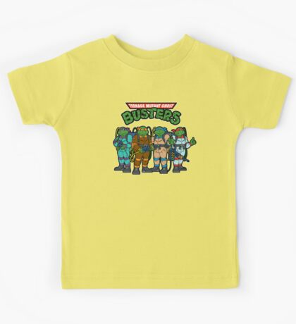 Teenage Mutant Ghost Busters Kids Tee