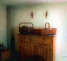 Still Life with Sewing Baskets by RC deWinter