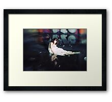 To were the mirror shows were I shall fall Framed Print